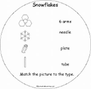 Snowflakes Early Reader Book - EnchantedLearning.com