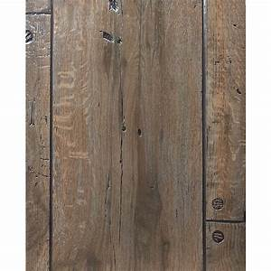 Shop FashionWall 47 75-in x 7 98-ft Embossed Weathered