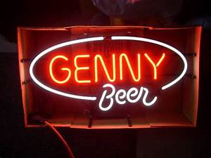 allianceinvestments VINTAGE Breweriana Neon Sign GENESEE