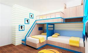 3 Beds In One Room Ideas Inspirational Examples Of Builtin