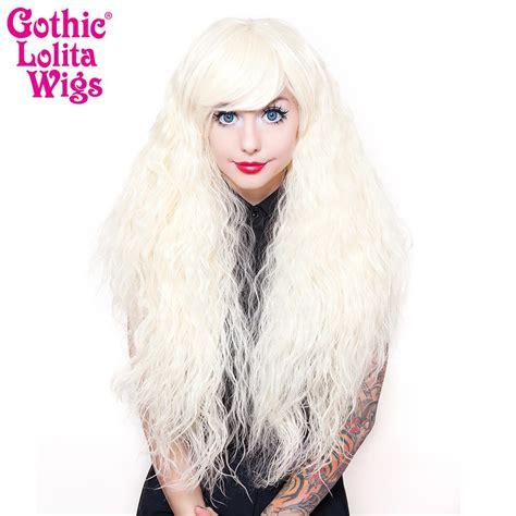 gothic lolita wigs store rhapsody collection platinum