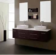 Modern Vanity Furniture by Milano II Modern Bathroom Vanity Set 59