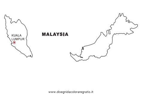 disegno malesia categoria nazioni da colorare