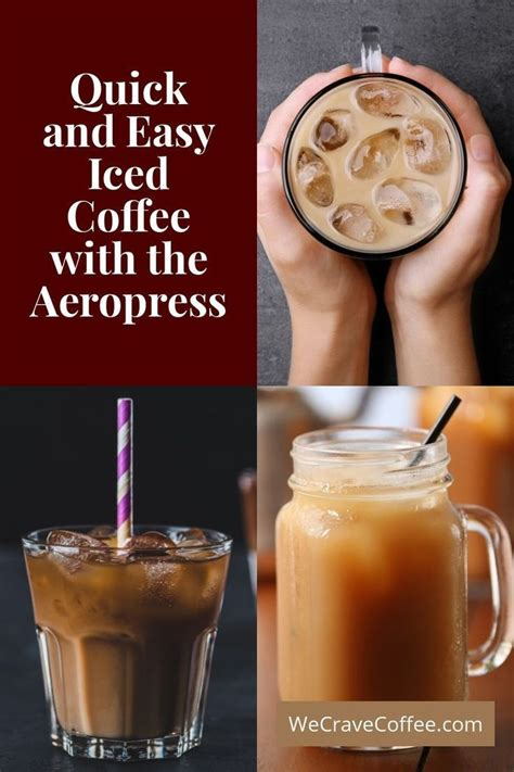 Gelato brothers brew bros coffee. Quick & Easy Iced Coffee with the Aeropress (With images)   Aeropress recipes, Iced coffee ...