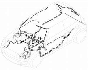 61113452851 Mini Cooper Replacement Wiring Harness  Stereo