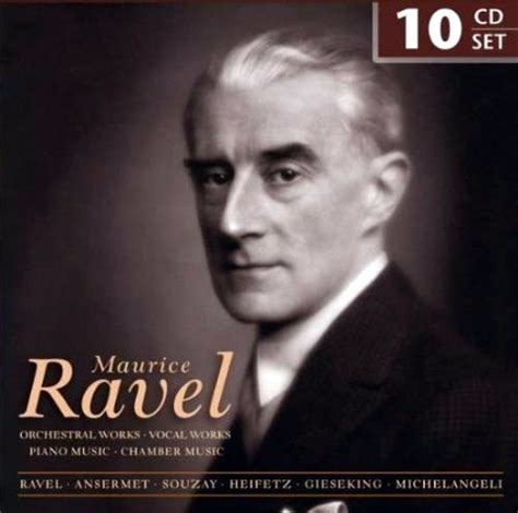 10 Cd Maurice Ravel  Works (boxset) Ebay