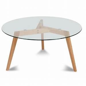 Table Basse Hauteur 60 Cm : table basse ronde hauteur 60 cm lille maison ~ Nature-et-papiers.com Idées de Décoration