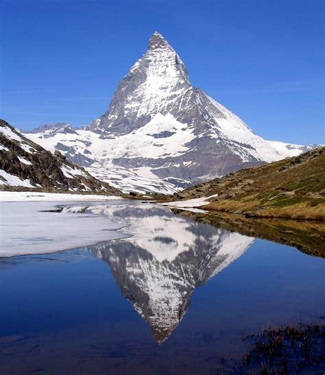 mirrored side file matterhorn riffelsee 2005 06 11 crop jpg wikimedia