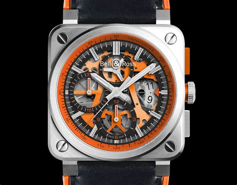Bell & Ross Br 0394 Aéro Gt Orange  Oracle Time