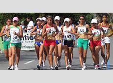 Campeonas De La Copa Panamericana De Marcha Atlética En