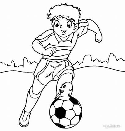 Football Coloring Pages Player Printable