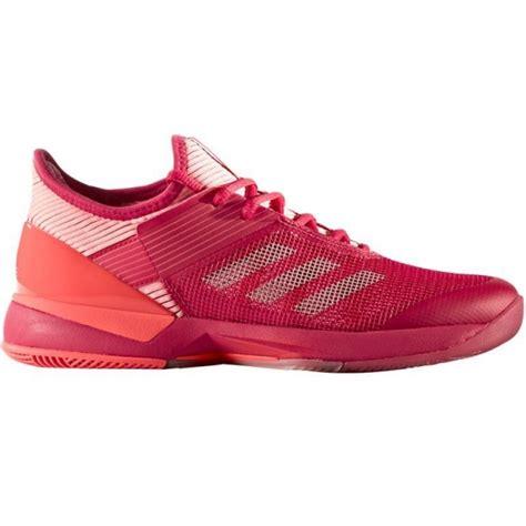 adidas womens adizero ubersonic  tennis shoes pinkcoral   tennis