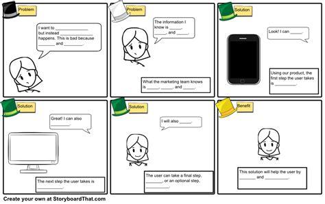 thinking hats storyboard template storyboard