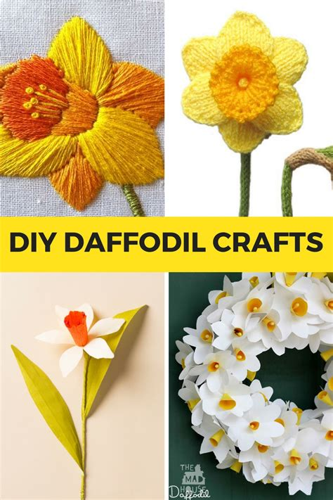 Diy Daffodil Crafts For Kids  Mum In The Madhouse