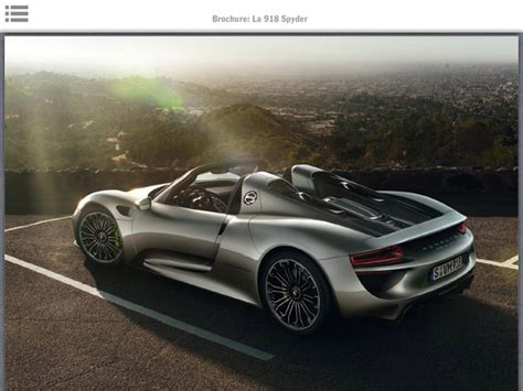 Porsche 918 Spyder Specs And Interior Revealed In Leaked