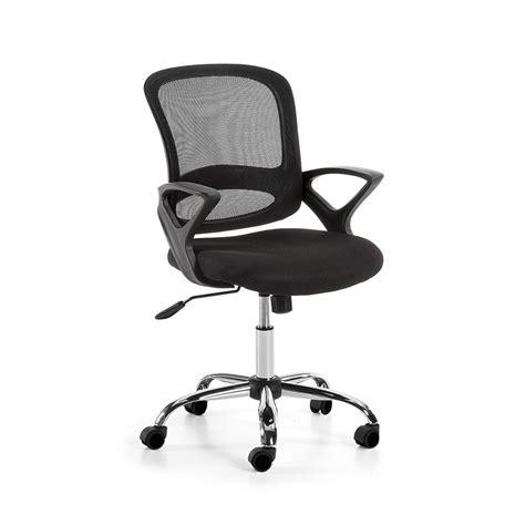 chaise à roulettes de bureau chaise de bureau pivotante et à roulettes tangier par drawer fr