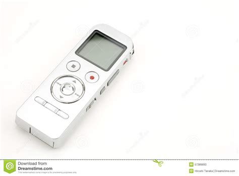 Background Voice Recorder Digital Voice Recorder Royalty Free Stock Image