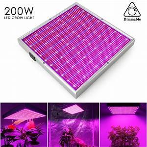 Led Pflanzenlampe Vollspektrum : 200w dimmbar led grow light pflanzenlampe vollspektrum wachstumslampe licht lamp ebay ~ A.2002-acura-tl-radio.info Haus und Dekorationen