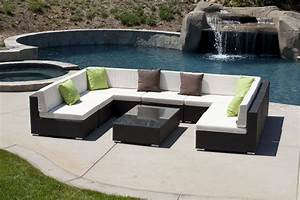 swing 46 sofa u shaped set With zenna outdoor sectional sofa set