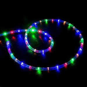 Multi color rgb led rope light home outdoor