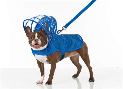 adjustable hood dog raincoats  push pushi dog milk