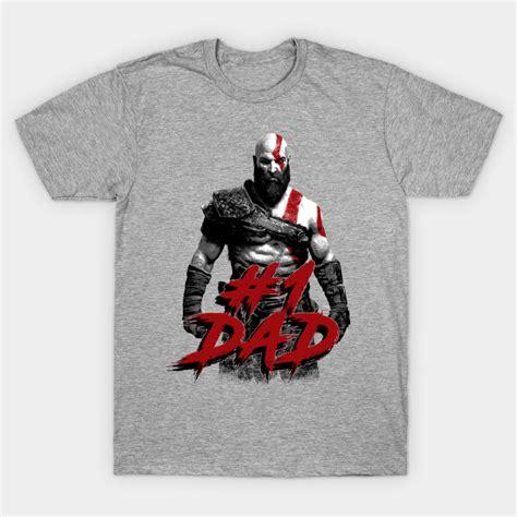 God Of War 6 T Shirt god of war kratos number 1 god of war t shirt