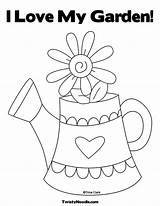Coloring Grandparents Pages Printable Happy Garden Preschool Colouring Sprout Sheets Gardening Watering Tools Pbs Cards Clip Cute Screen Twistynoodle Template sketch template