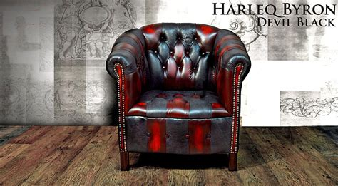 Poltrona Chesterfield Vintage Patchwork Harleq, Nuovo Made
