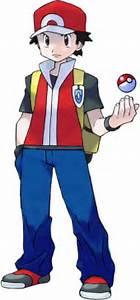 red pokemon trainer