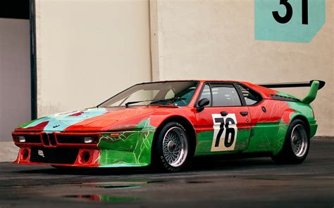 Bmw M1 Group 4 Art Car By Andy Warhol (1979) Wallpapers