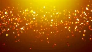 Loopable Orange Glitter And Sparkles Over Gradient ...