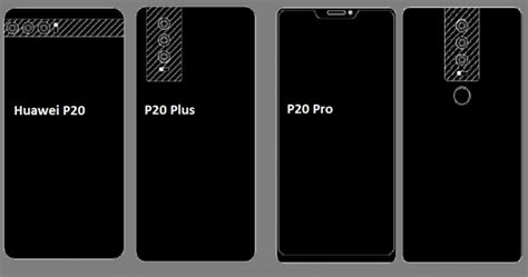 Huawei P20 with triple rear cameras to release at MWC 2018 ...