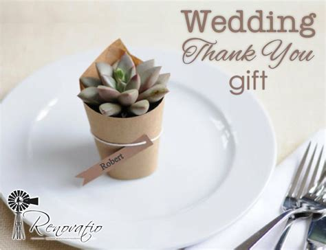 inexpensive thank you gifts for wedding guests diy