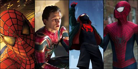 Spider-Man: All 8 Movies Ranked (Including Far From Home)