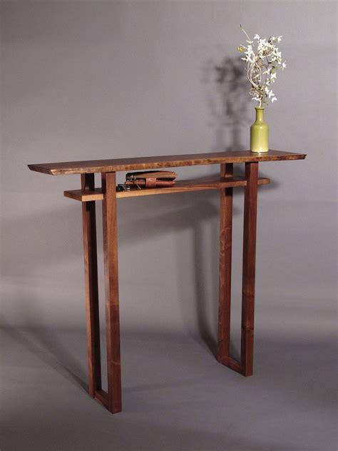 Slim Entryway Table by Hallway Table Diy Narrow Table