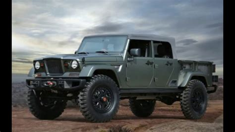 When Does The Jeep Truck Come Out by 2018 Jeep Gladiator Price And Release Date