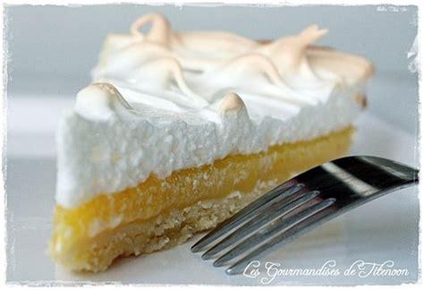 recette tarte au citron  sa meringue