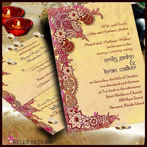 Diy Printable Wedding Invitation, Rsvp, Reception Card