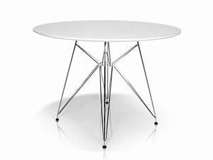 Küchentisch Rund Weiß : rolly tisch rund 105 cm weiss ~ A.2002-acura-tl-radio.info Haus und Dekorationen