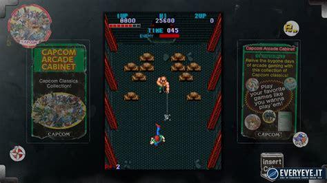 capcom arcade cabinet recensione capcom arcade cabinet everyeye it