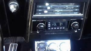 1967 Chevrolet Camaro Retrosound Radio Install