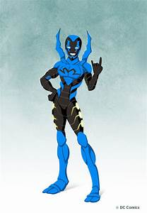 Blue Beetle Young Justice Wallpaper