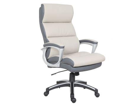 fauteuil de bureau gris fauteuil de bureau shawn simili 2 coloris hauteur