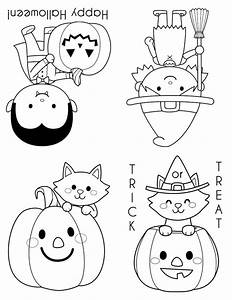 coloring pages for halloween free printable - printable halloween coloring books happiness is homemade