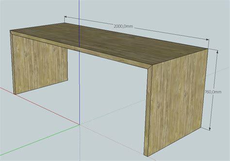 arbeitsplatten verbinden ohne fräsen tischplatte n aus holzbalken selber bauen