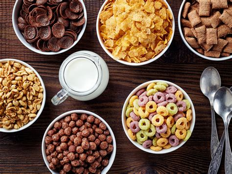 the most popular cereal in every state