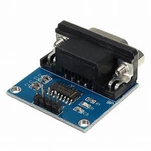 Mini Rs232 To Ttl Converter Adaptor Module Board Max3232