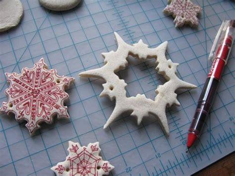 diy salt dough ornaments homemade clays pinterest