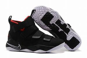 "2017 Nike LeBron Soldier 11 ""Bred"" Black/White-University ..."