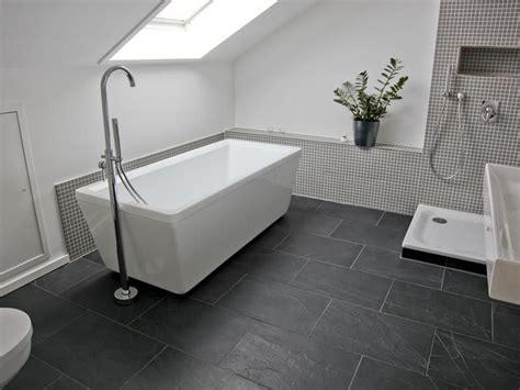 Badezimmer Fliesen Grau Schwarz by Fliesen Schwarzer Schiefer Badezimmer Badezimmer